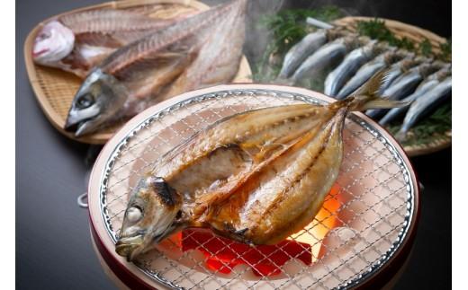 竹炭仕込みのこだわり一夜干し/厳選魚5種を約1.2kg
