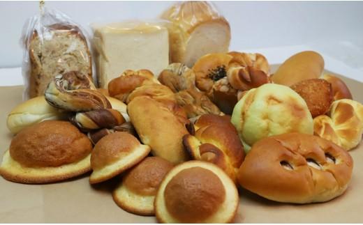 A-89 国産小麦とバターを使った ふんわりパンいろいろ詰合せ(1回分)