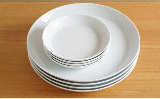 TA41 【4人分の食器セット】S-lineの30ピースセット【白山陶器】【波佐見焼】-2