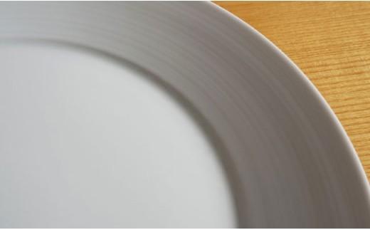 TA34 【2人分の食器】ミストホワイト 4ピースセット【白山陶器】【波佐見焼】-4