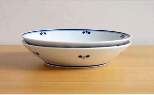 TA31 【波佐見焼】ブルーム フリーディッシュ 2柄ペアセット【白山陶器】-5