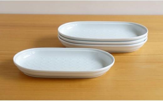 TA43 【4人分の食器セット】グッドデザイン賞38ピースセット【白山陶器】-5