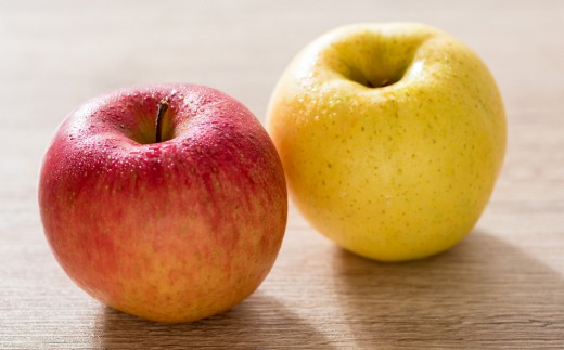 【予約受付/12月下旬から発送予定】北上市/口内産 りんご5㎏ 完熟サンフジ など人気品種のりんごをお届け致します