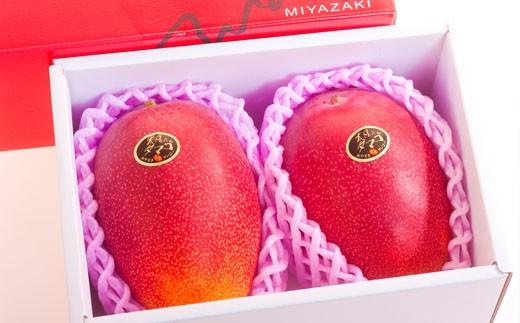 【数量・期間限定】最高級大玉完熟マンゴー「太陽のタマゴ」(2玉)30-1500