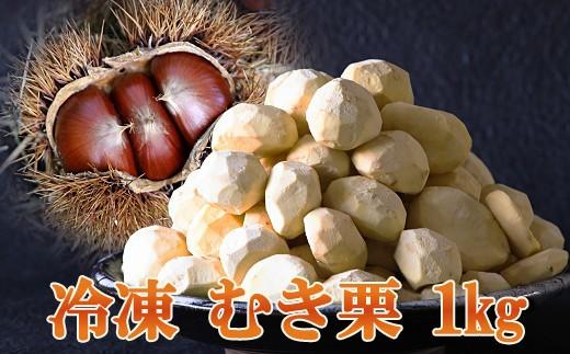 Y15-1 南関産 冷凍むき栗1kg