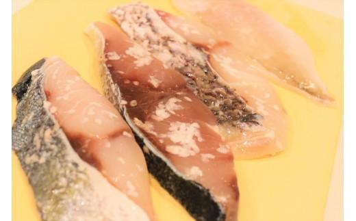 M1339_魚の切り身の塩麹漬けセット【4種×2パック】