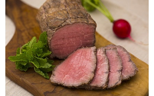 8B-58鹿児島県産 黒毛和牛ローストビーフ(もも肉)