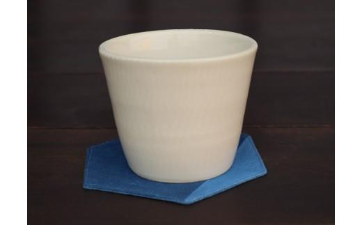 007-2101 宝殿焼 柿の木窯 フリーカップ 1個
