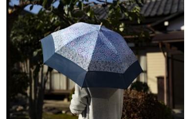 【東京染小紋】世界に一つのグラデーション 伝統の小紋を掛け合わせた手差し型染 UV日傘(3柄)