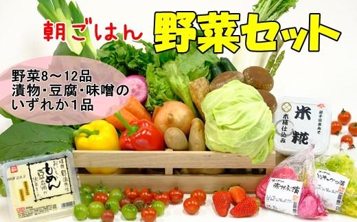 花巻産イーハトーヴ朝ごはん野菜セット 【273】