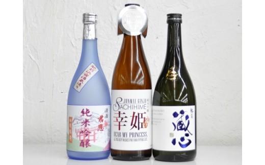 D-20 酒処鹿島の純米吟醸3本セット