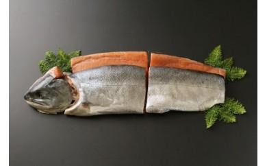 日高産『新巻鮭切り身』『いくら 醤油味』のセット《富永水産》