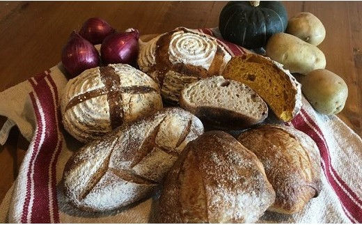 A109 中富良野産野菜のハード系パンと仲間たち