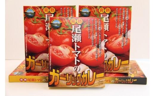尾瀬トマトのガーリックカレー
