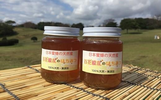 261 日本みつばちの天然蜜 160g×2本
