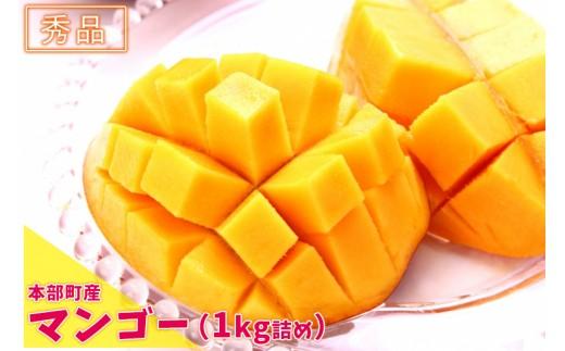 【2019年夏発送】本部町産マンゴー(秀品)(1kg詰め)