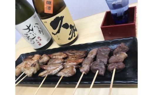 「土佐久礼一本釣り鰹のハランボ串」と「高知県産猪ステーキ串」 12本セット