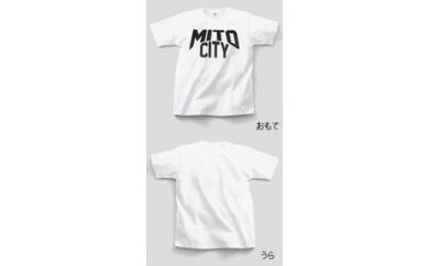 ご当地Tシャツ♪  MITO CITY  【白】  Lサイズ