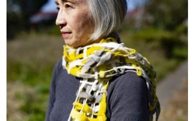 【東京・八王子伝統工芸品】「多摩織」世界に認められたウールストール(3色)