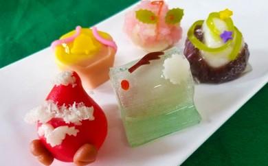 [№5674-0376]あの老舗和菓子屋のクリスマス上生菓子(クレジット決済限定)
