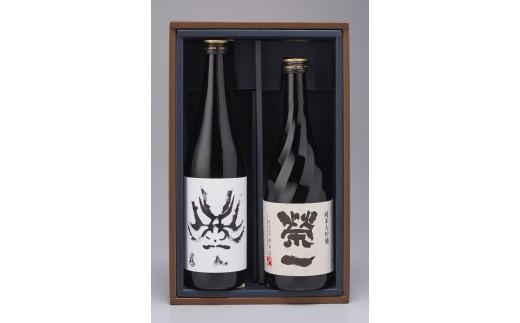 89 「百十郎」純米大吟醸-黒面-&「榮一」純米大吟醸