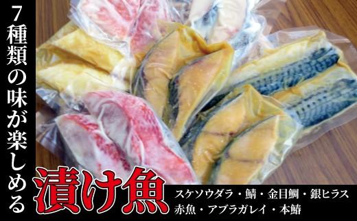 CG-2 漬け魚・盛沢山