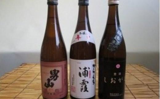 【04203-0020】熊久商店 酒の本流・辛口セット