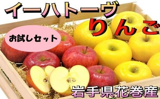【005】 イーハトーヴ訳ありりんごお試しセット 《予約受付》
