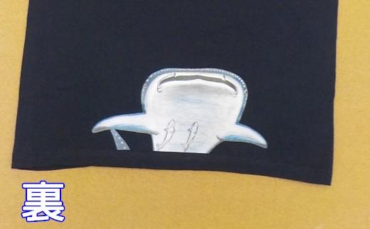 裾にはジンベイザメちゃんとコバンザメちゃんのイラスト