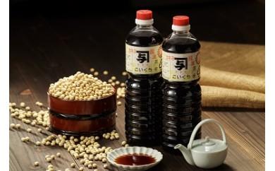能登の甘口醤油 カネヨ醤油(1L×6本入り)