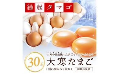 【2019年1月20日以降発送】大寒たまご(新春開運グルメ)