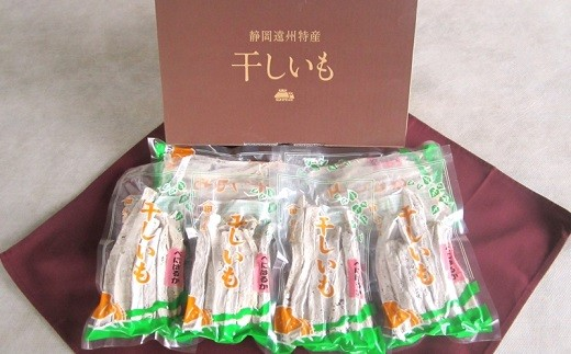 244 静岡県遠州地方で収穫されたサツマイモで作った「干しいも」スティックタイプ150g×6袋