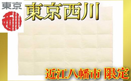 【ふとんの西川】羽毛肌掛けふとん/ホワイトダックダウン70%/0.5㎏/アイボリー【P198SM-C】