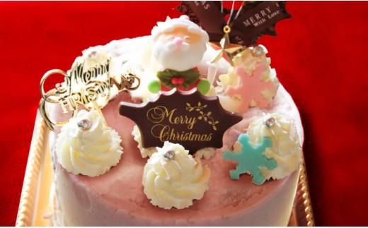 U-10 【期間限定】ドルチェかがみの特製クリスマス★アイスケーキ