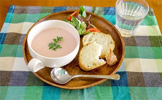 一流のフレンチシェフが厨房で作った野菜たっぷりのスープをお手軽にご自宅で楽しんでもらうことで、食卓がビストロに早変わり!