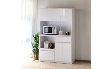 日本一の家具産地大川製 幅116cm食器棚 ナポリ【5カラー展開】