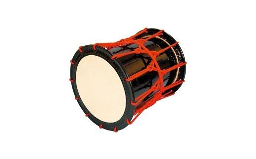 桶胴太鼓1.6尺(赤紐)【本体】面480㎜ 胴長520㎜
