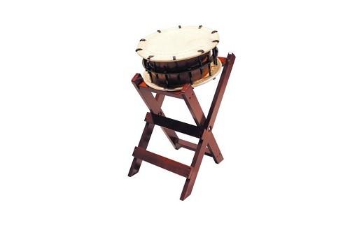 ※台座をご選択ください【子供用立台座】縦420×横330×高さ580 全高(含太鼓)680㎜