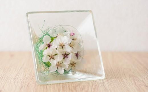 【印字可能】桜のボトルフラワー