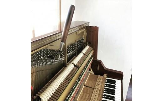 アップライトピアノ 1台調律チケット