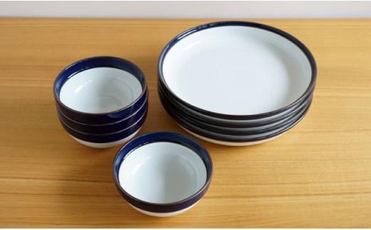 TA43 【4人分の食器セット】グッドデザイン賞38ピースセット【白山陶器】-7