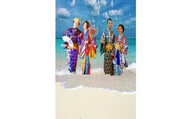ヨロン島ウェディング衣装(琉装)