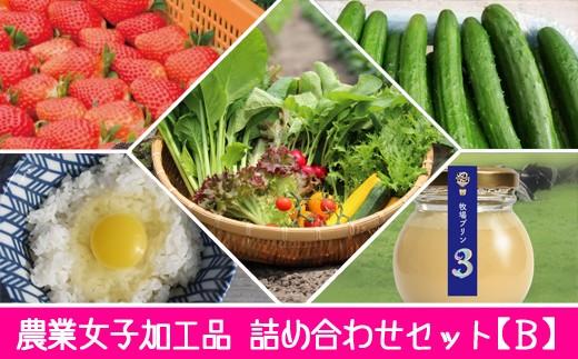 C214 ★農業女子セレクト★野菜・加工品 つめ合わせセット【B】