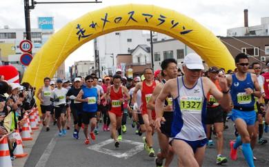 [№5898-0058]H31年度 第8回「走れメロスマラソン出走参加権」※クレジットのみ
