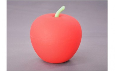 [№5731-0253]APPLE LIGHT(RED)【防災ライト】99.9mm×107mm