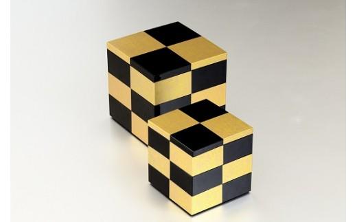 市松GOLD4.0三段重(黒) (A)
