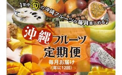 【全12回】沖縄フルーツ定期便