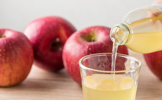 甘く蜜の詰まったりんごを丸ごとしぼった、フレッシュな味をお楽しみください!