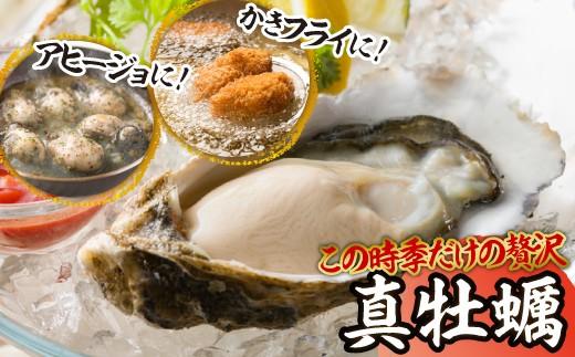 仮屋湾の真牡蠣(4kg)