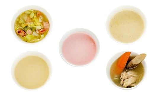 塩尻市の美味しい野菜を使った5種類のスープ